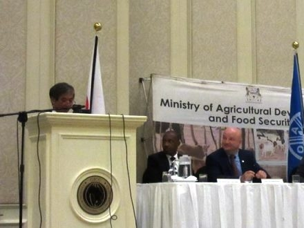 Launch of FAO project(2)